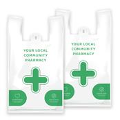Picture of EMT NHS Vest Pharmacy Carrier Bags - EMTD8