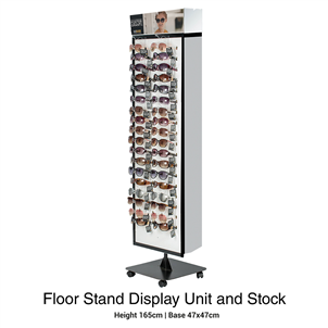 Picture of Foster Grant Floor Standing Unit & Stock - EMTFG9020