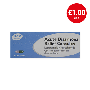 Picture of Loperamide Diarrhoea Relief Caps 2mg 6s - F10023