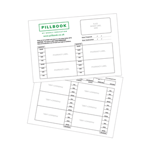 Picture of PillBook Plastic MDS Tray Paper - FP02
