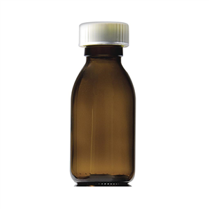 Picture of 30ml Capped Round Glass Bottles - GE30