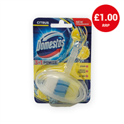 Picture of Domestos Power Toilet Block Citrus 40g - HODOM030