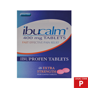Picture of Ibuprofen Tablets 400mg 48s (P) - IBU004