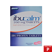 Picture of Ibuprofen Tablets 200mg 24s (P) - IBU005