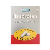 Picture of Ibuprofen Caplets 200mg 16s - IBU015