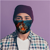 Picture of Reusable Face Covering Big Cat - MASK13L