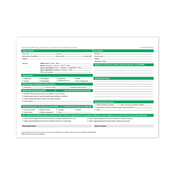 Picture of Medicines Under Review Refill Pad - MUR008PAD