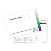 Picture of Near Miss Register Book - NMR001