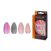 Picture of 24 Infinity Nail Tips & 3gm Glue - NNAI251