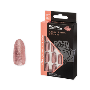 Picture of 24 Lucky Charm Nail Tips & 2gm Glue - NNAI329