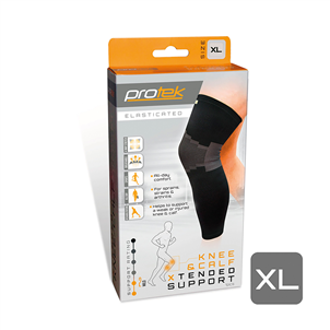 Picture of Protek Elasticated Knee/Calf Support XLG - P20731