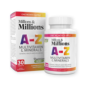 Picture of Millions & Millions A-Z Multi Vits PK30 - P2542