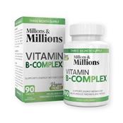 Picture of Millions & Millions Vit B Complex Pk90 - P2545