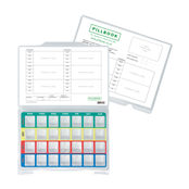 Picture of PillBook Plastic MDS Tray Pack PK210 KIT - PB002
