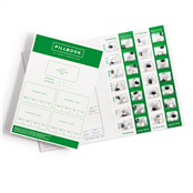 Picture of PillBook Large Card MDS Tray PK250 - PB01