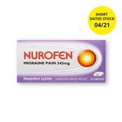 Picture of Nurofen Migraine Tabs 12s Expiry 30.4.21 - RB420908SD