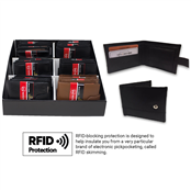 Picture of Gents Wallet With RFID Protection Asstd - RFID002