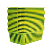 Picture of Medium Baskets Lime Green Packs Of 20 - S03M093