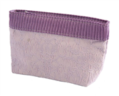 Picture of Lilac Jacquard Cosmetic Purse - SF6037S