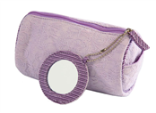 Picture of Lilac Jacquard Purse With Mirror - SF6078