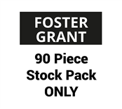 Picture of Foster Grant 90 Piece Stock Pack ONLY - SFGPEMT220