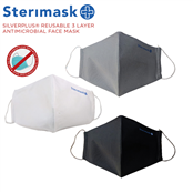 Picture of Silverplus Facemask Assort Med Pk2 - ST364