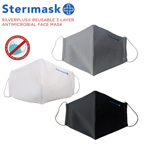 Picture of Silverplus Facemask Assort Large Pk2 - ST365