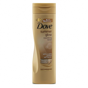 Picture of Dove Glow Tan Lotion Fair-Medium 250ml - SUDOV051