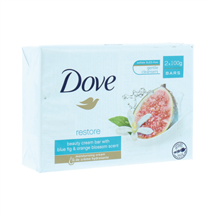 Picture of Dove Soap Bar Go Fresh Restore 2x100g - TODOV696