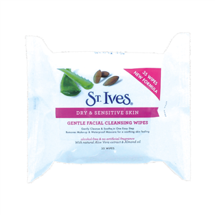 Picture of St Ives Facial Gent Cleansing Wipes 35s - TOSTI122