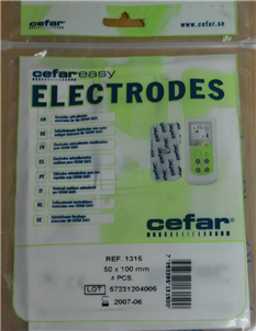 Picture of Pads for SE-33 TeNS Machine - TP2
