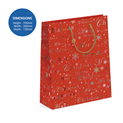 Picture of Christmas Large Gift Bag - TUR0167