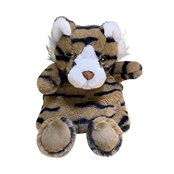 Picture of Plush Microwavable Tiger Heat Pack - WARM63