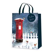Picture of Postbox Design Gift Bag Medium - XB0079M